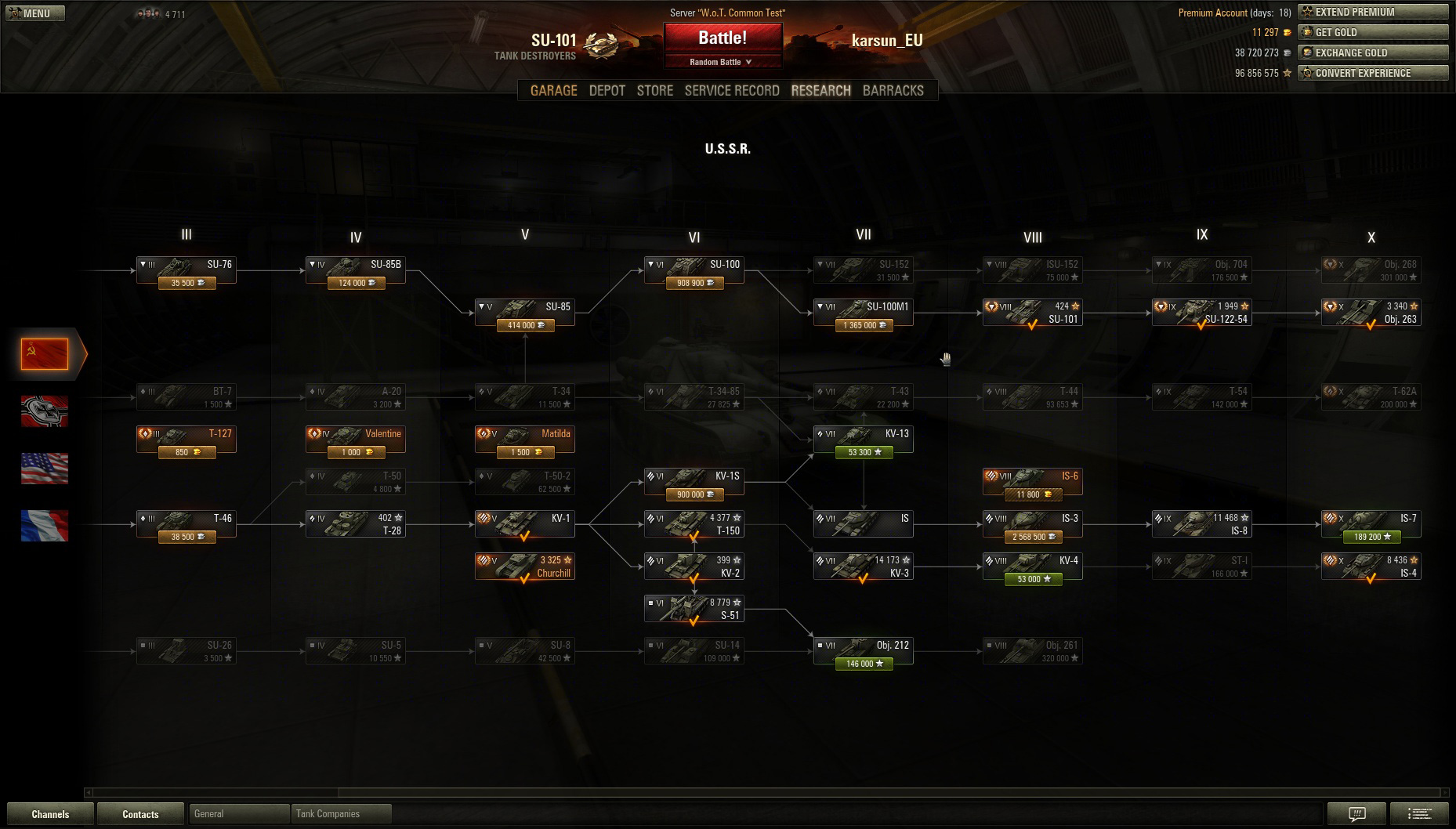T-127 matchmaking