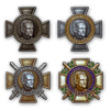 LES FAITS D'ARMES / MEDAILLES / JETONS.... ET INSIGNES DE MAITRISE Medalleclerc