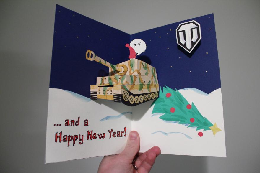 Как сделать открытку танки, открытки летием