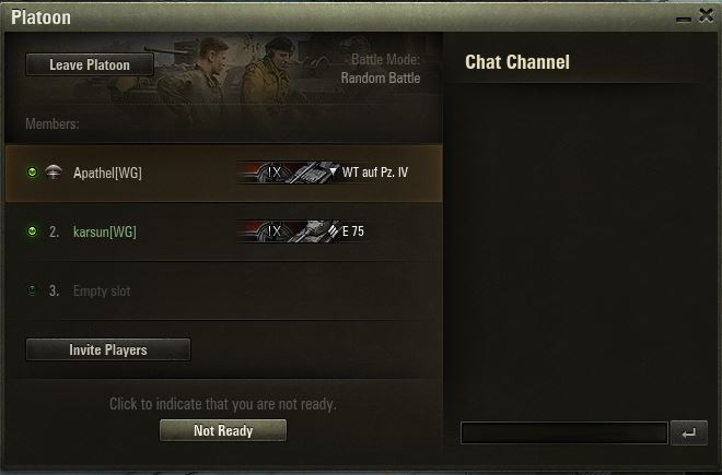 scout tank matchmaking