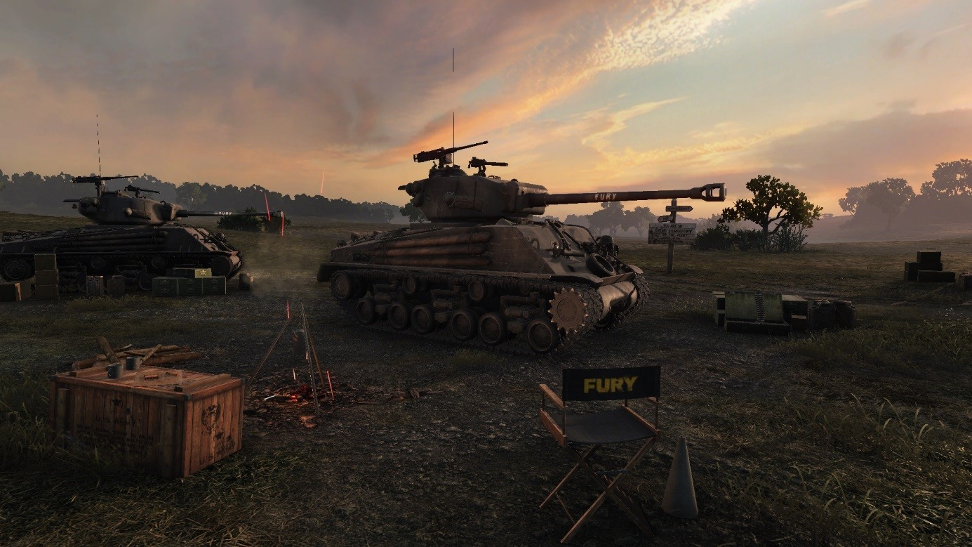 Tanque de Corazones de acero en World of Tanks