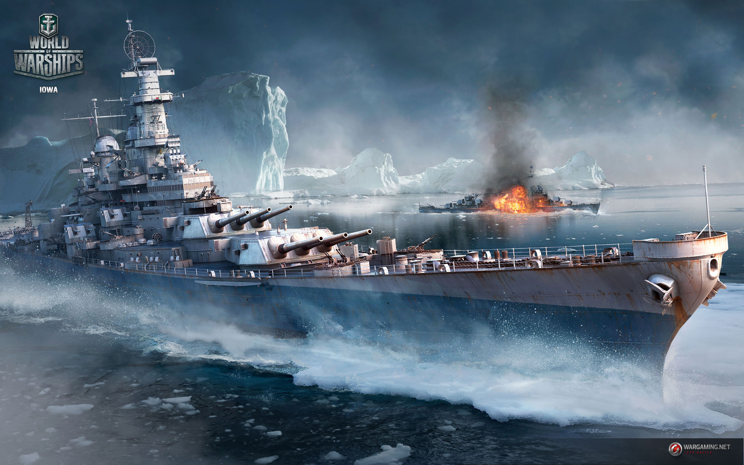 world of warships wallpaper 1366x768