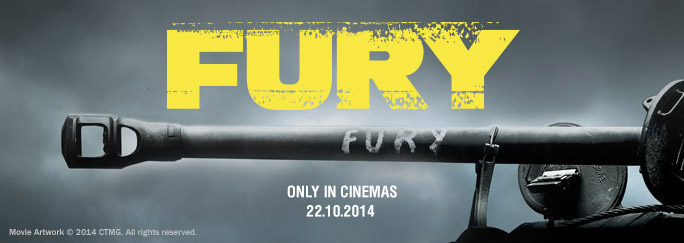 What was it like to go to the premiere of FURY?   General News