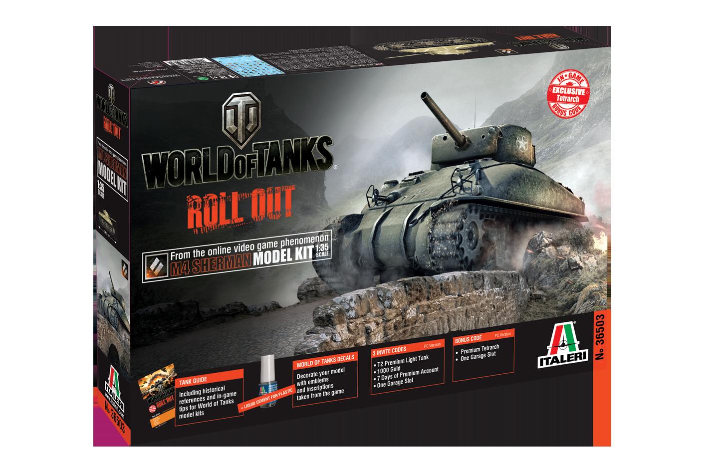 Introducing Italeri World of Tanks Model Kits   General ...