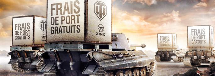 Frais de port gratuits sur les produits officiels concours world of tanks - Thomann frais de port gratuit ...
