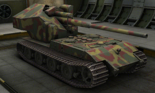 waffentrager auf e 100 world of tanks