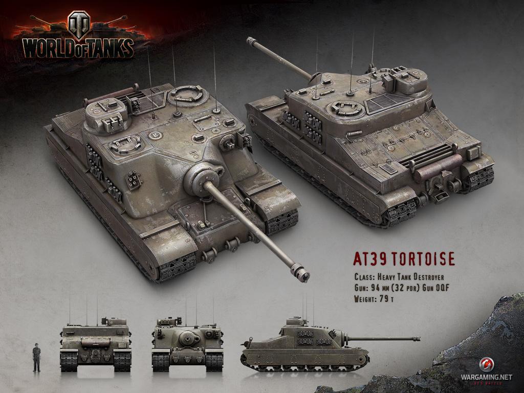 at39 tortoise panzer medien f r world of tanks beste videos und kunst. Black Bedroom Furniture Sets. Home Design Ideas