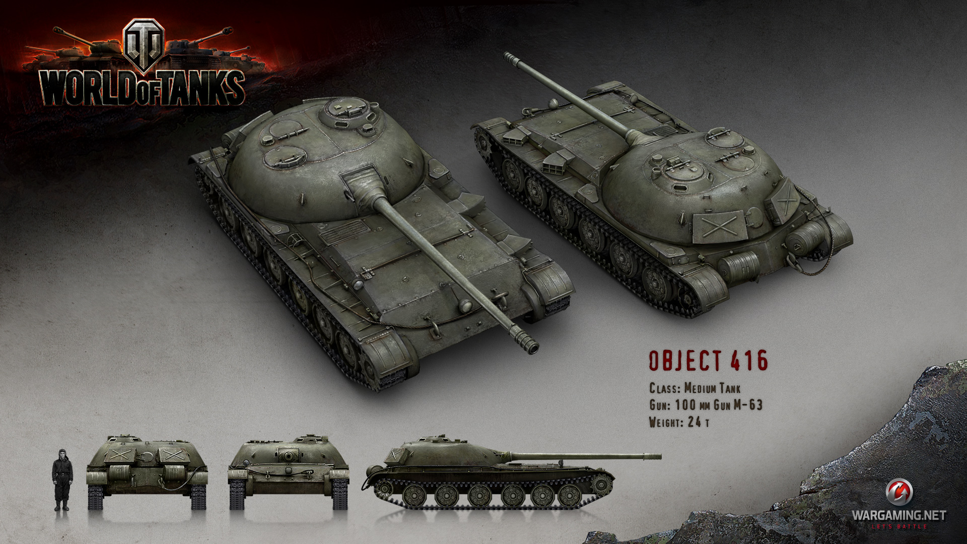 Object 416 | Tanks: World of Tanks media, best videos and ...