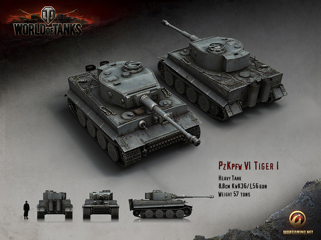 W.tiger World Of Tanks Development of the Tiger I was